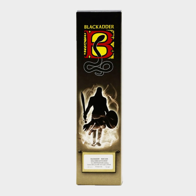 BLACKADDER RAW CASK INVERGORDON SINGLE GRAIN SCOTCH WHISKY 2006 14YO CELEBRATING 25 YEARS OF BLACKADDER Cask no.901436 64.2%