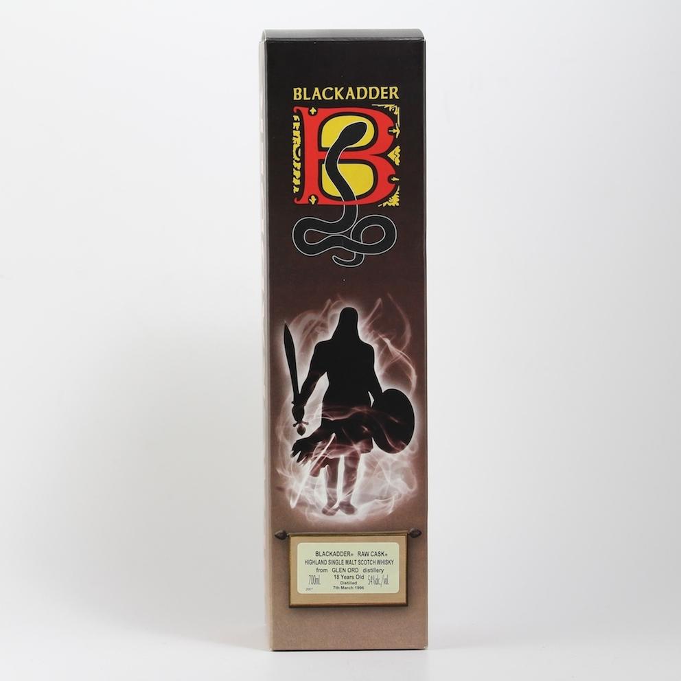 BLACKADDER RAW CASK GLEN ORD 1996 18yo Cask No.2175 54%
