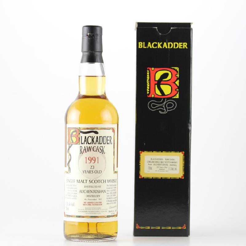 BLACKADDER RAW CASK AUCHENTOSHAN 1991 23yo 51.3%