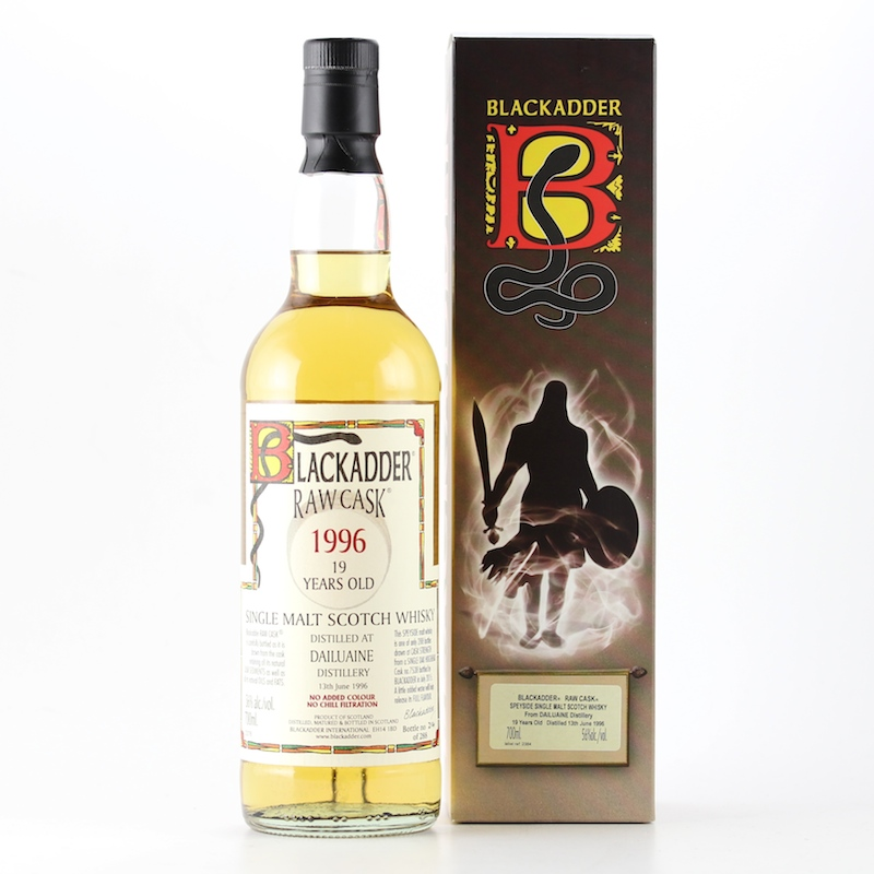 BLACKADDER RAW CASK DAILUAINE 1996 19yo Cask no.7538 56%
