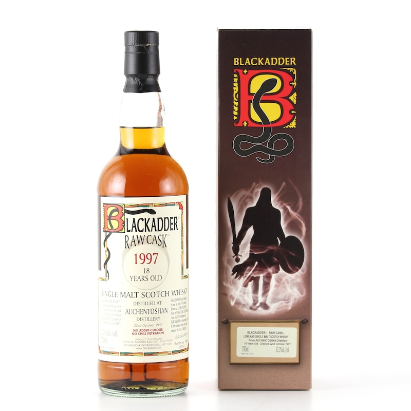 BLACKADDER RAW CASK AUCHENTOSHAN 1997 18yo Cask No.2909 52.3%