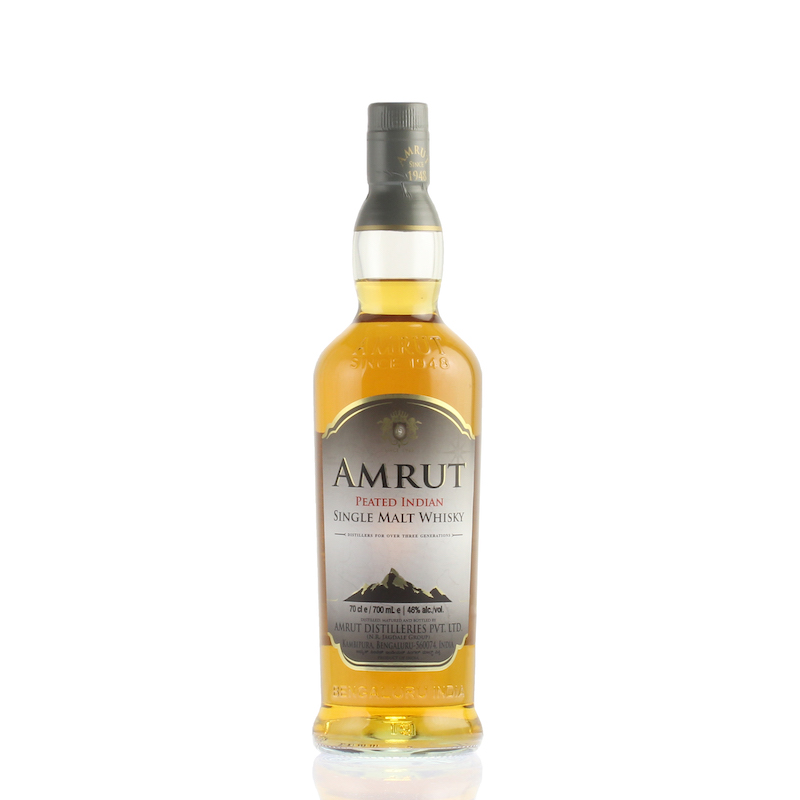 Amrut Peated Indian Single Malt Whisky 46%