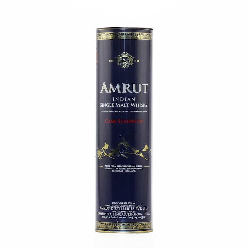 AMRUT INDIAN SINGLE MALT WHISKY CASK STRENGTH 61.8%