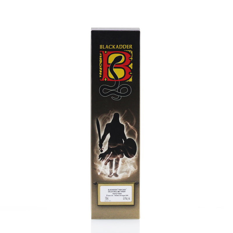 BLACKADDER RAW CASK ENGLISH SINGLE MALT WHISKY 2009 8yo HEAVILY PEATED 61ppm Cask No.34 63.4%