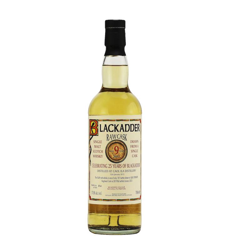 BLACKADDER RAW CASK CAOL ILA 2012 9YO CELEBRATING 25 YEARS OF BLACKADDER Cask no.301986 57.8%