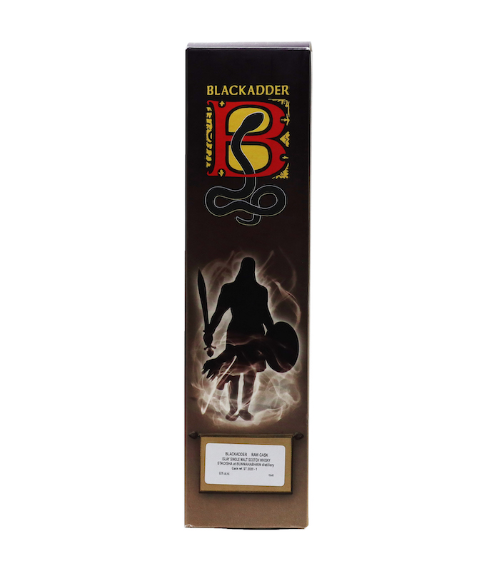 BLACKADDER RAW CASK STAOISHA at BUNNAHABHAIN CELEBRATING 25 YEARS OF BLACKADDER Cask Ref. ST 2020-1 60.9%