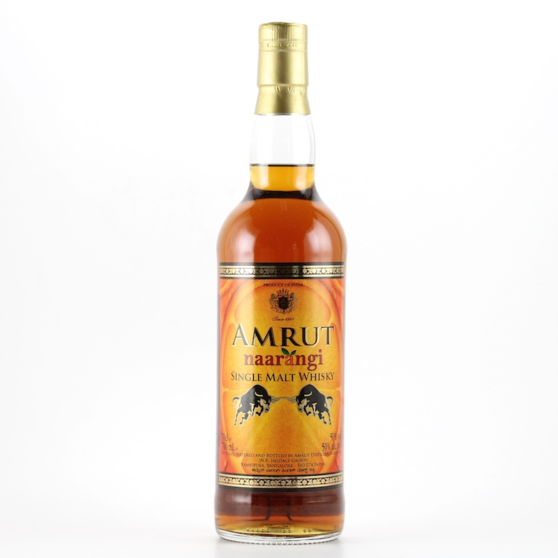 AMRUT NAARANGI SINGLE MALT WHISKY 50%