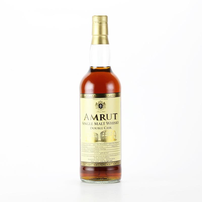 AMRUT SINGLE MALT WHISKY DOUBLE CASK Cask No.3451/3802 46%