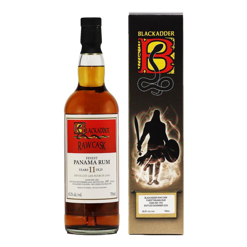 BLACKADDER RAW CASK PANAMA RUM 11YO CASK REF:PR3 63.2%