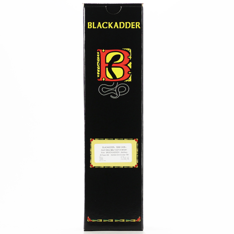 BLACKADDER RAW CASK BRUICHLADDICH 1991 26YO  Cask No: 3045 55.2%