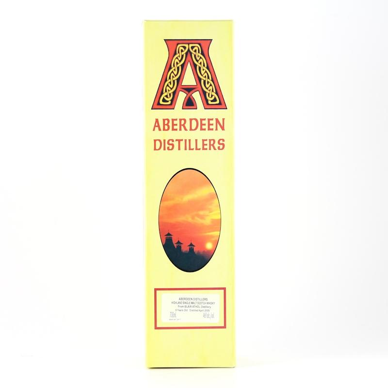 ABERDEEN DISTILLERS BLAIR ATHOL 2009 6yo Cask Ref:ABD1016 46%