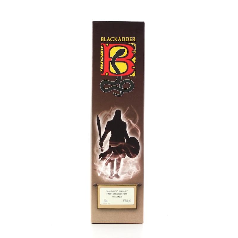 BLACKADDER RAW CASK RUM BARBADOS RUM 2003 12yo Cask Ref:2016-20 62.6%
