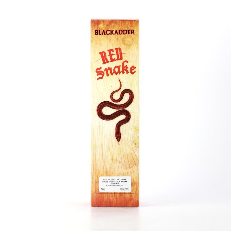 BLACKADDER RED SNAKE RAW CASK Cask ref:Redneck 09 SPICY 57.9%