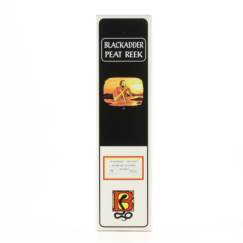 BLACKADDER PEAT REEK ISLAY SINGLE MALT SCOTCH WHISKY Cask Ref: PR 2018-3 46%