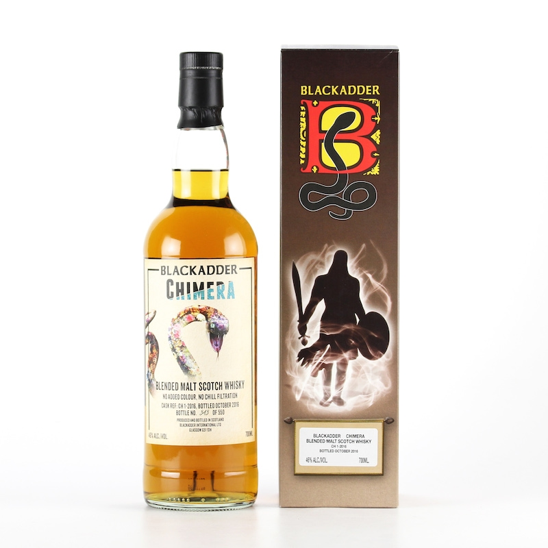 BLACKADDER BLENDED MALT SCOTCH WHISKY CHIMERA Cask ref:CH1-2016 46%