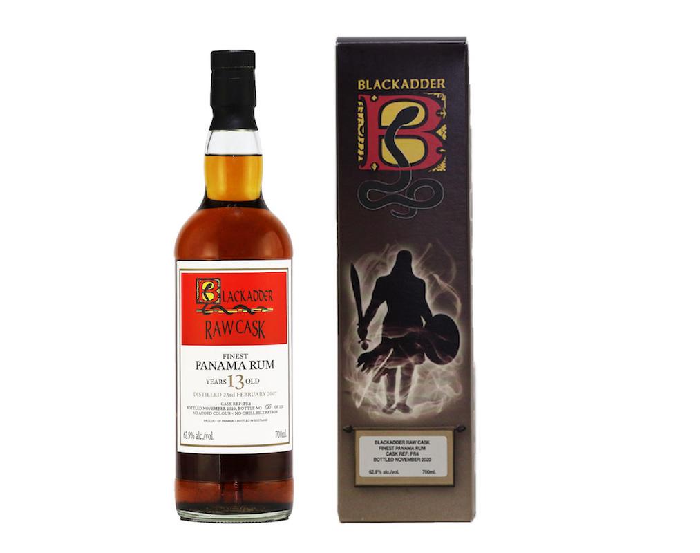 BLACKADDER RAW CASK PANAMA RUM 13YO CASK REF:PR4 62.9%
