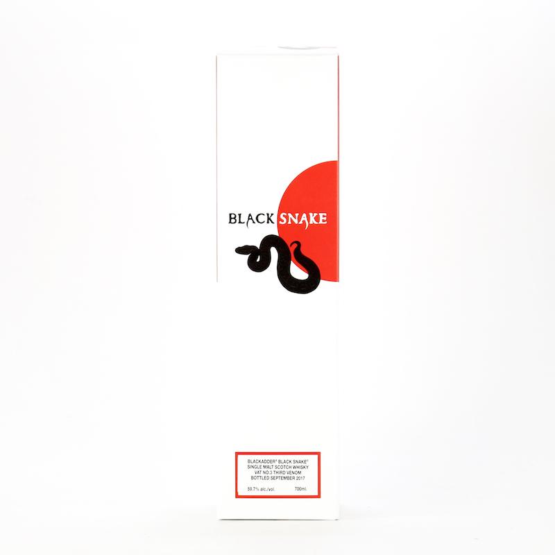 BLACKADDER BLACK SNAKE VAT No.3 THIRD VENOM 59.7%
