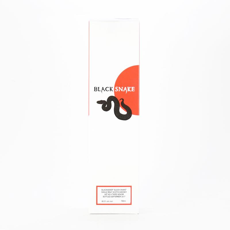BLACKADDER BLACK SNAKE VAT No.4 THIRD VENOM 60.3%