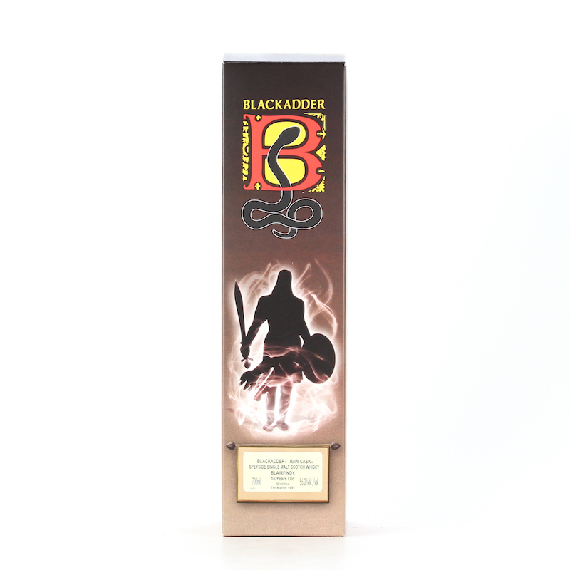 BLACKADDER RAW CASK BLAIRFINDY 1997 16YO Cask ref:BF2013-3 56.2%
