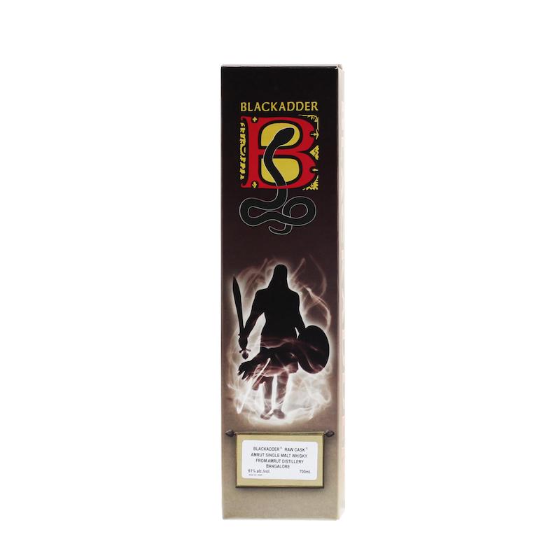 BLACKADDER RAW CASK AMRUT NICARAGUAN RUM CASK FINISH Cask ref.BA31-2019 61%