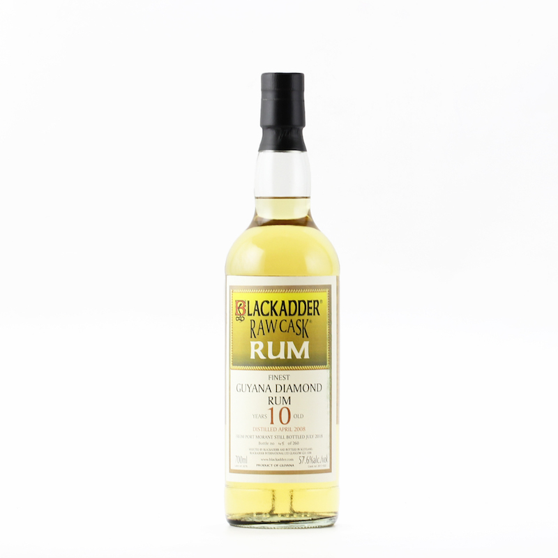 BLACKADDER RAW CASK GUYANA DIAMOND RUM 2008 10YO Cask Ref: 2017-022 57.6%