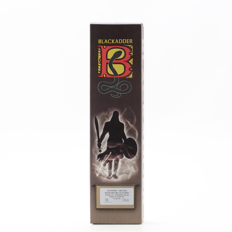 BLACKADDER RAW CASK LEDAIG 2001 16YO Cask No. 800133 57.3%