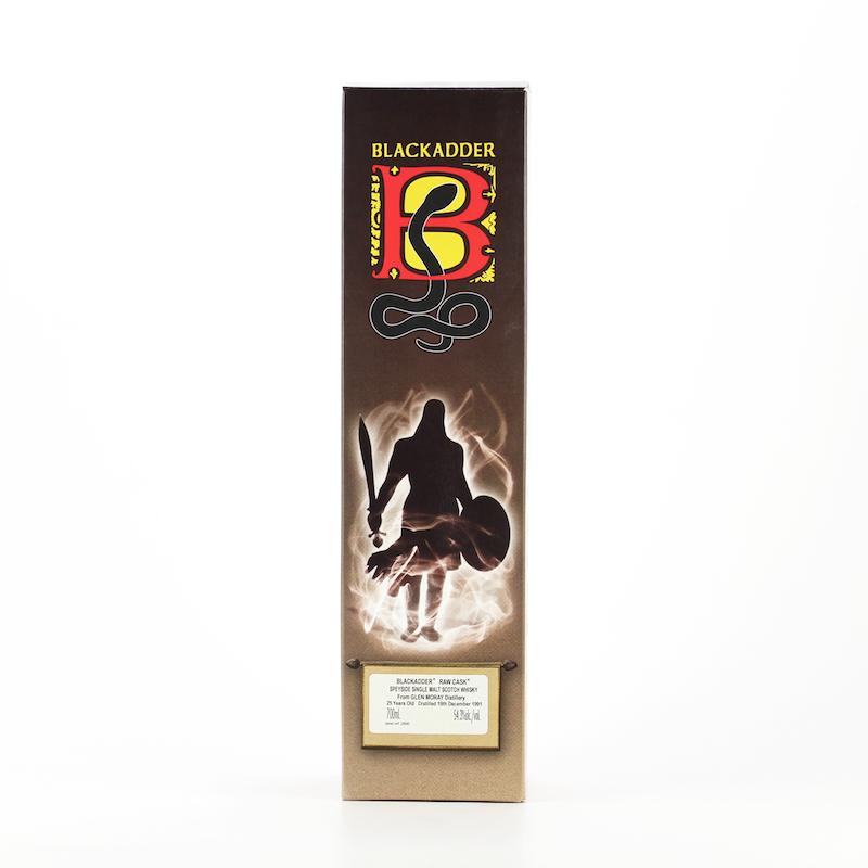 BLACKADDER RAW CASK GLEN MORAY 1991 25yo Cask ref:9414 54.3%