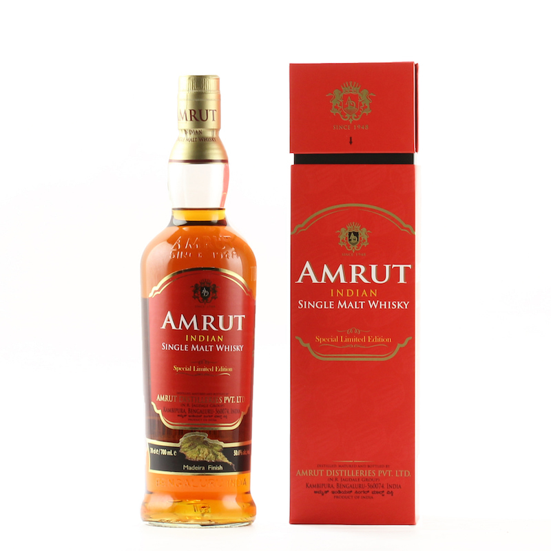 AMRUT INDIAN SINGLE MALT WHISKY Special Limited Edition Madeira Finish 50%
