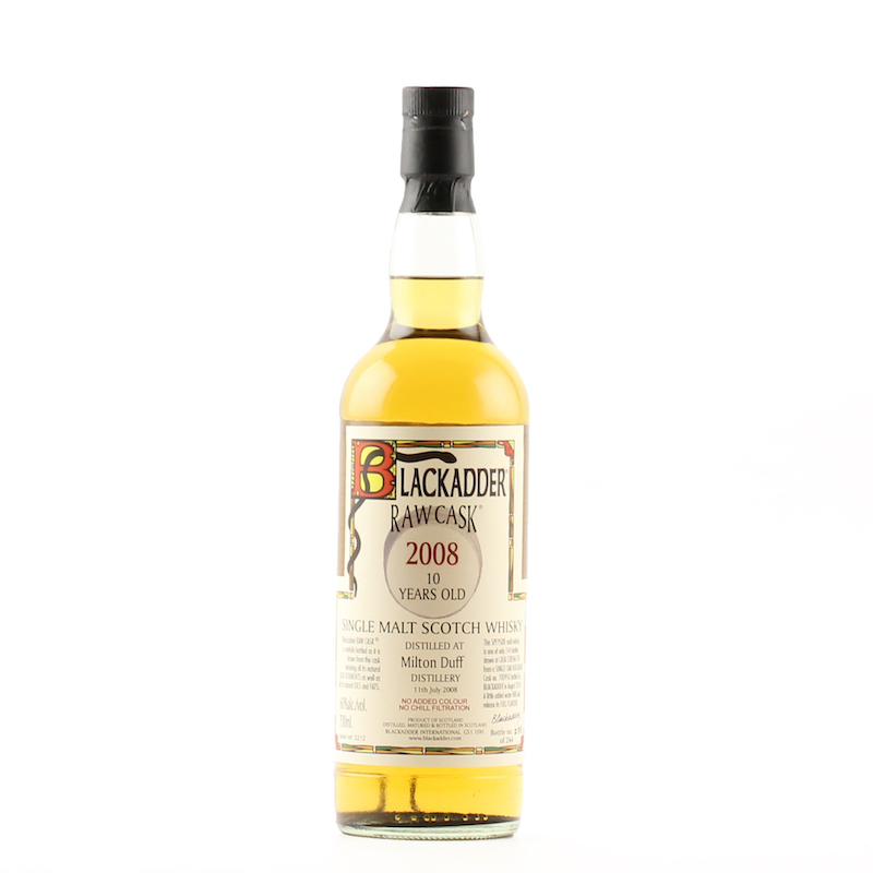 BLACKADDER RAW CASK MILTONDUFF 2008 10YO Cask No.700950 60%