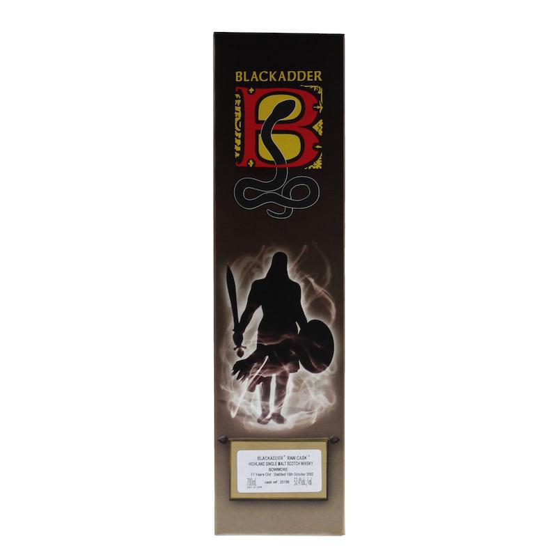 BLACKADDER RAW CASK BOWMORE 2002 17YO Cask ref:20199 53.4%