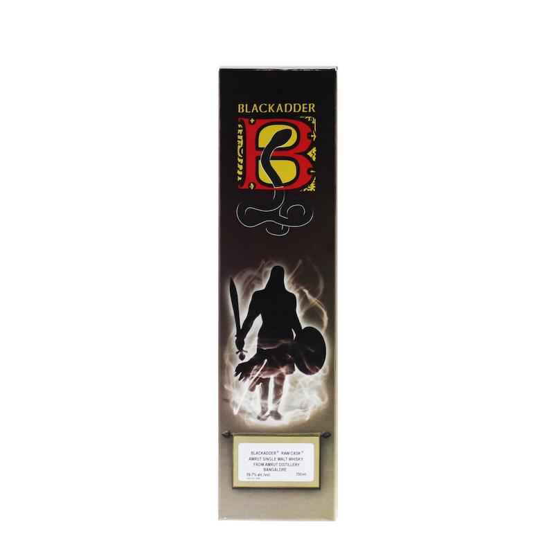 BLACKADDER RAW CASK AMRUT DENNIS STECKEL SELECTION SHERRY CASK FINISH Cask ref.BA30-2019 59.7%