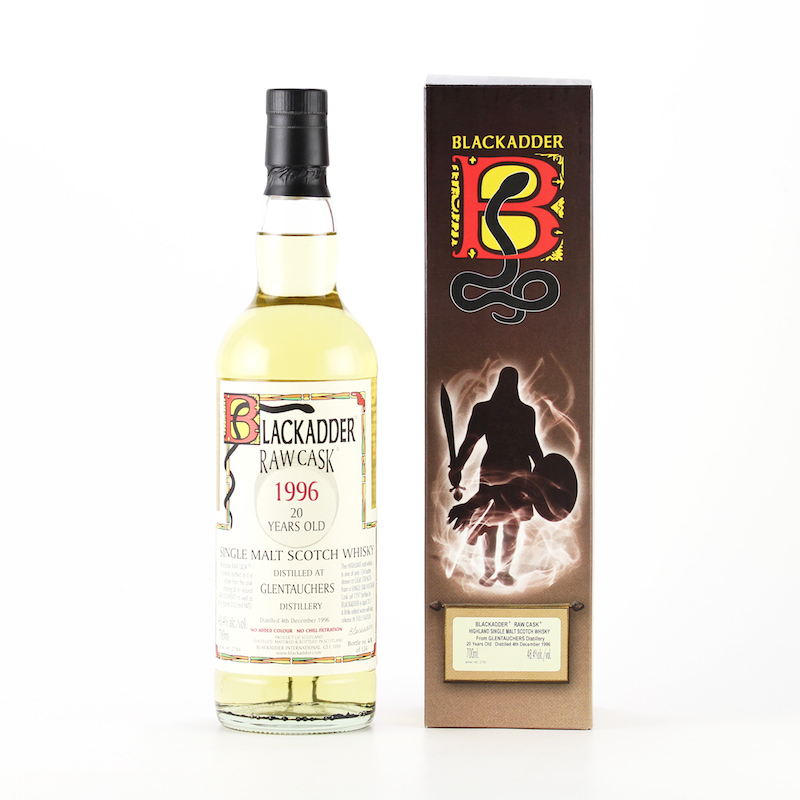 BLACKADDER RAW CASK GLENTAUCHERS 1996 20yo Cask ref:7297 48.4%