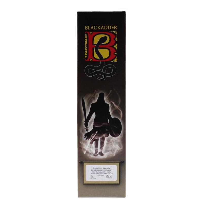 BLACKADDER RAW CASK GLENALLACHIE 2008 11YO REFILL SHERRY BUTT Cask ref:846 63%