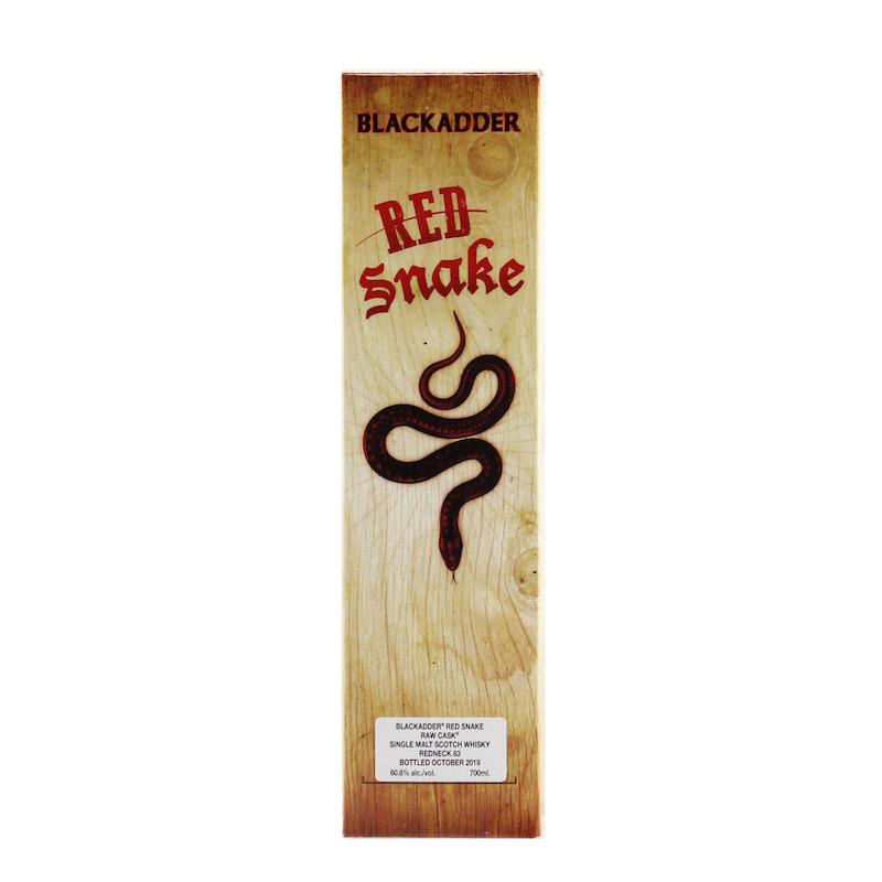 BLACKADDER RED SNAKE RAW CASK Cask Ref: Redneck 83 60.8%