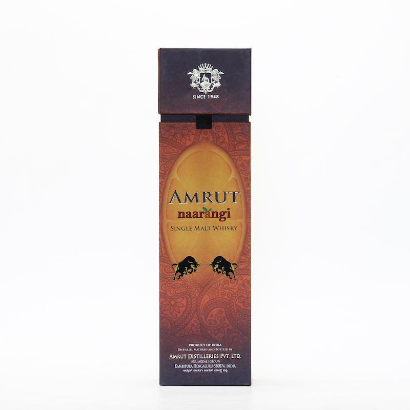 AMRUT NAARANGI SINGLE MALT WHISKY 50%