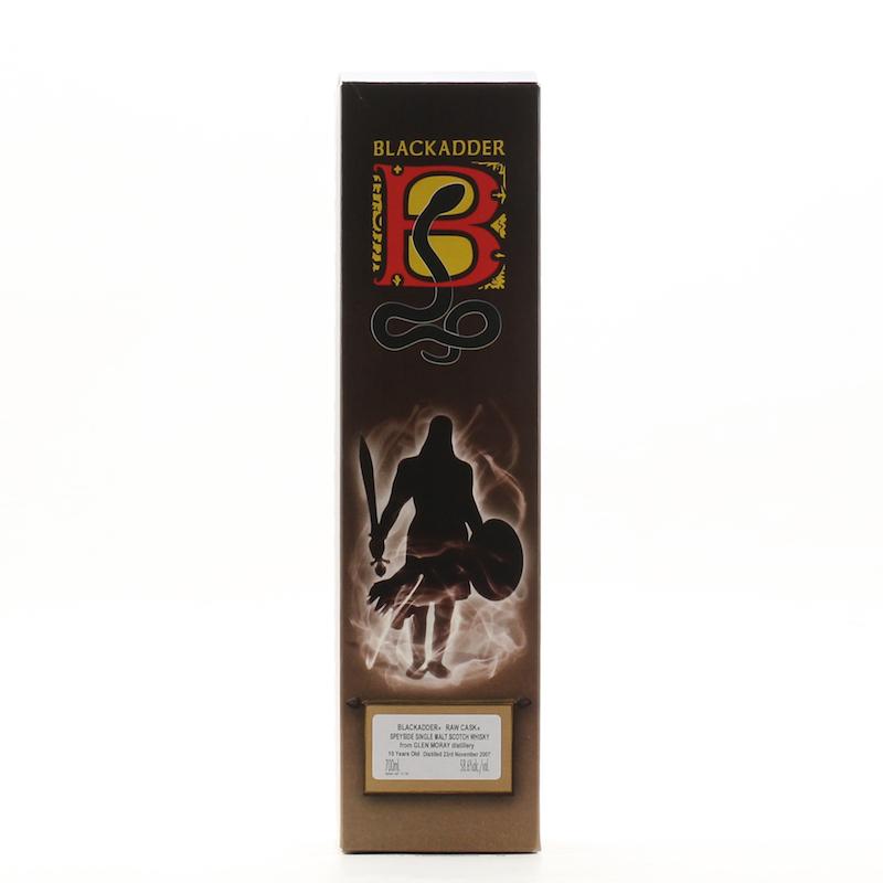 BLACKADDER RAW CASK GLEN MORAY 2007 10YO Cask No. 5690 58.6%