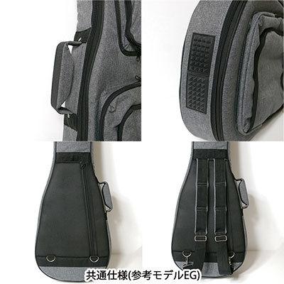 GID GPO-EB/CGY エレキベースギター用ギグバッグ