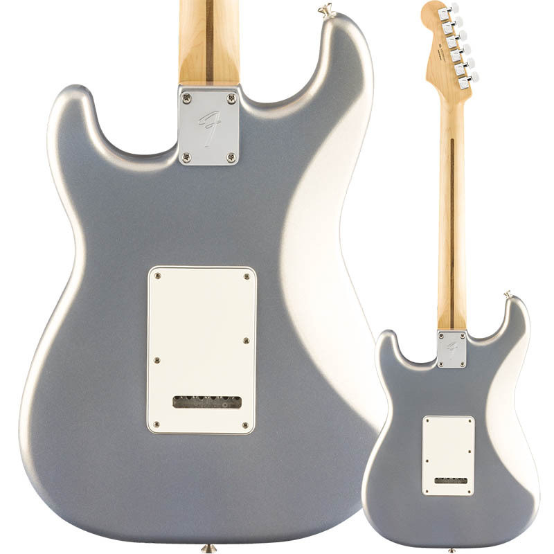 Fender Player Stratocaster Silver Pau Ferro Fingerboard【フェンダーストラトキャスター】