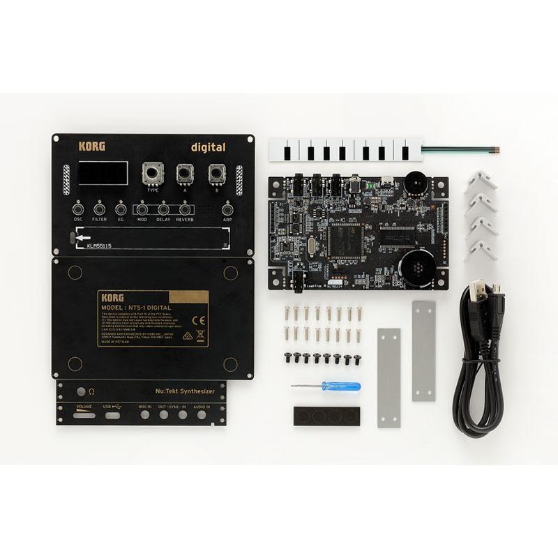 KORG NTS-1 DIGITAL コンパクトDIYシンセキット【コルグ】