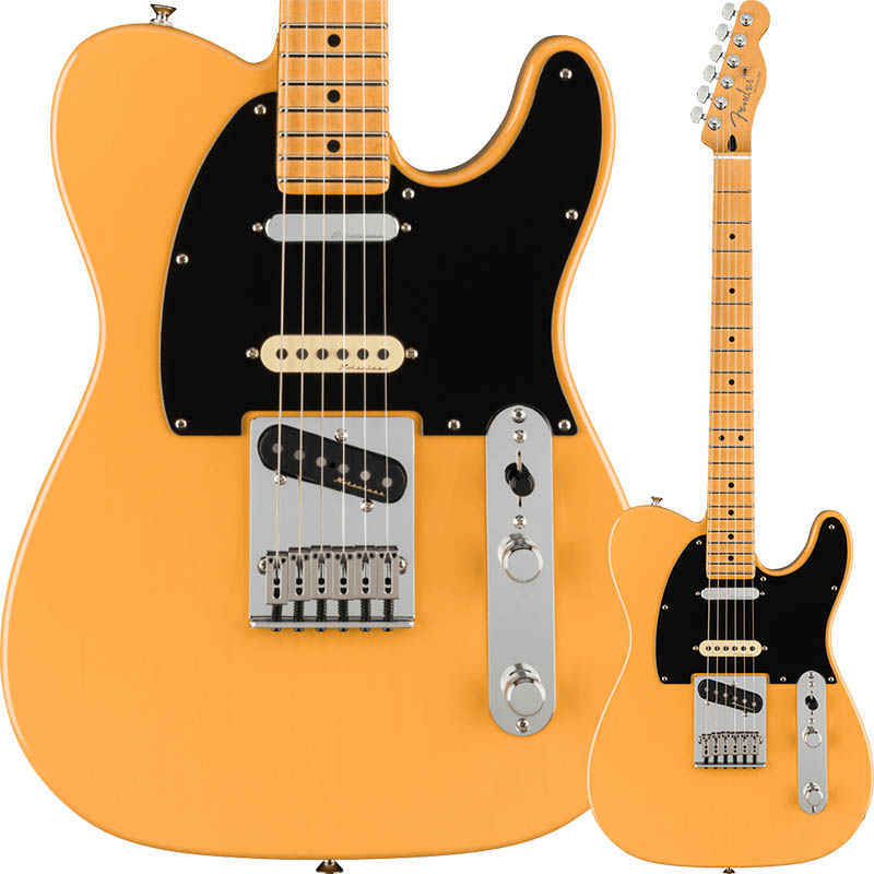Fender Player Plus Nashville Telecaster, Maple Fingerboard, Butterscotch Blonde【フェンダーMEXテレキャスター】