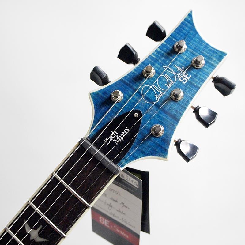 PRS SE Zach Myers (Myers Blue) エレキギター【ポールリードスミス】