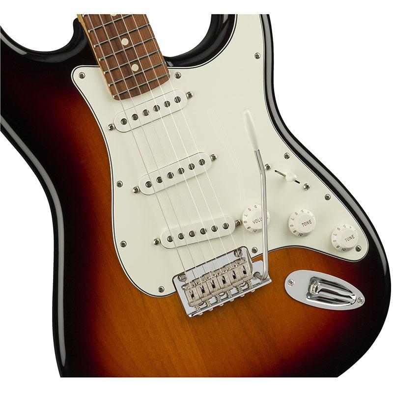 Fender Player Stratocaster 3-Color Sunburst Pau Ferro Fingerboard【フェンダーストラトキャスター】【正規輸入品】