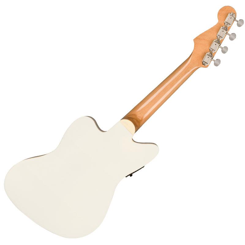 Fender ウクレレ Fullerton Jazzmaster Uke, Olympic White【フェンダー】