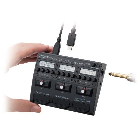ZOOM GCE-3 Guitar Lab Circuit Emulator ギター/ベース用USBオーディオ・インターフェース【ズーム】