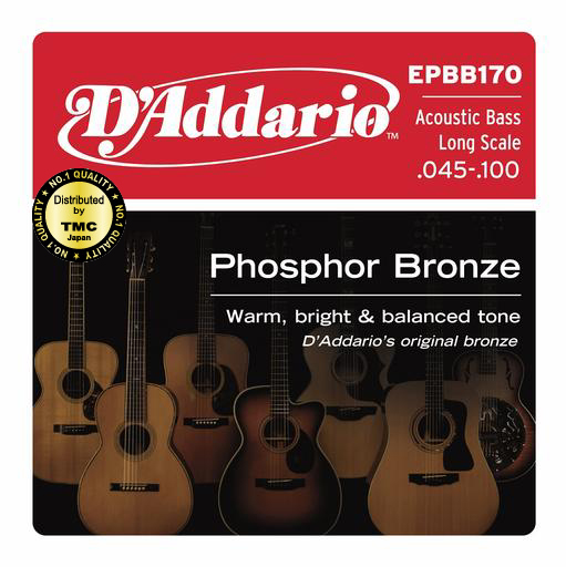 D'addario/アコースティックベース弦 EPBB170 Regular Light【ダダリオ】【メール便OK】