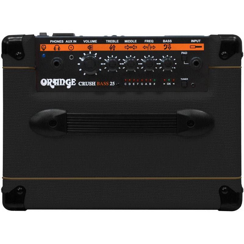 ORANGE ベースアンプ Crush Bass 25B (ブラック)【オレンジ】
