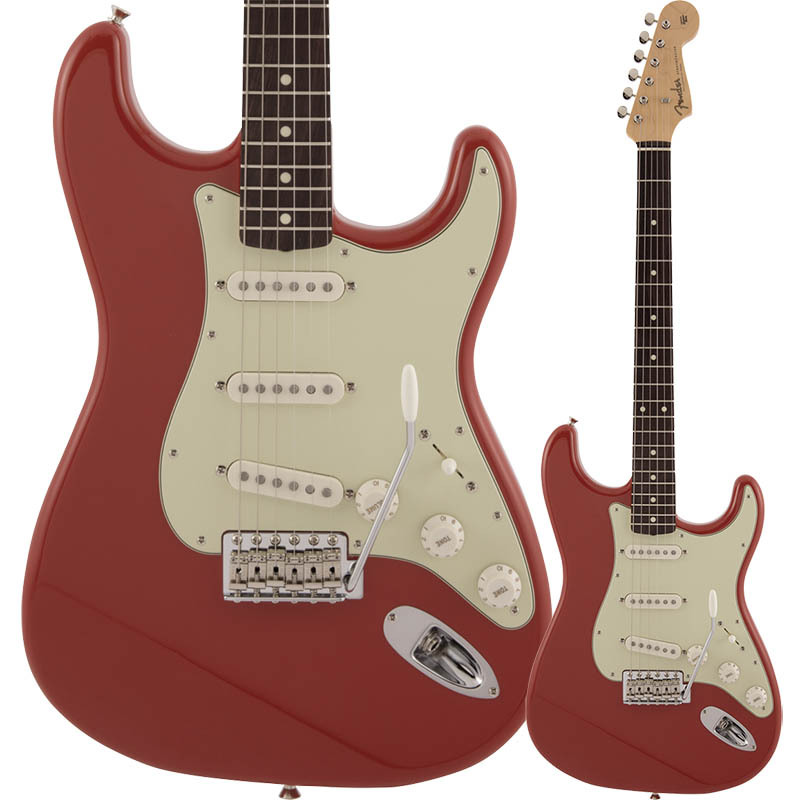 Fender Made in Japan Traditional 60s Stratocaster, Rosewood Fingerboard, Fiesta Red【フェンダージャパンストラトキャスター】