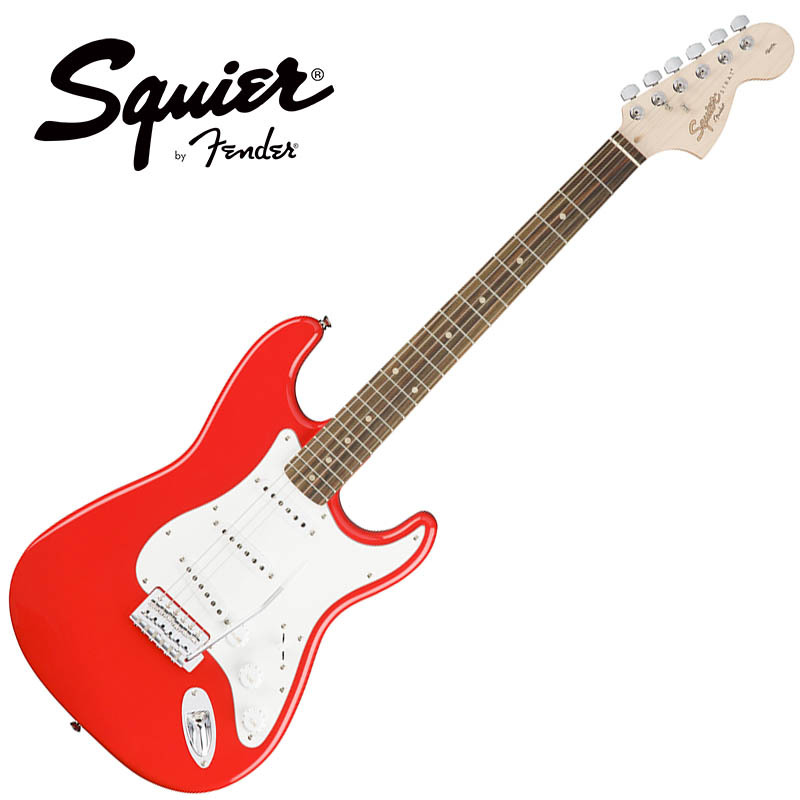 Squier by Fender/Affinity Series Stratocaster Race Red【スクワイア フェンダー】