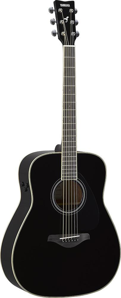YAMAHA/トランスアコースティックギター FG-TA ブラック(BL)【ヤマハ】