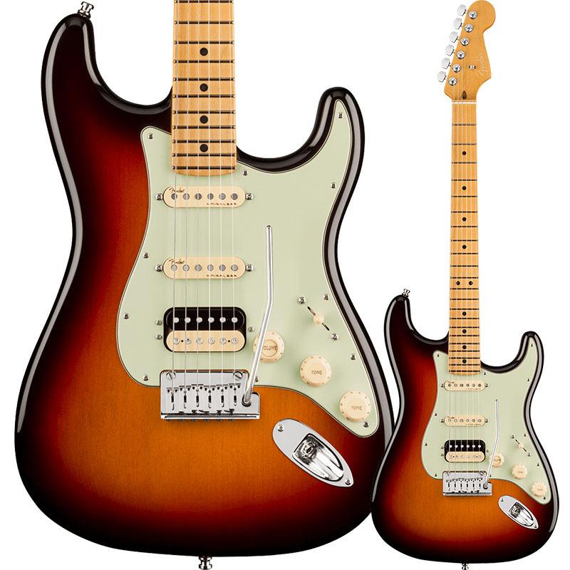 Fender American Ultra Stratocaster HSS, Maple Fingerboard, Ultraburst【フェンダーUSAストラトキャスター】
